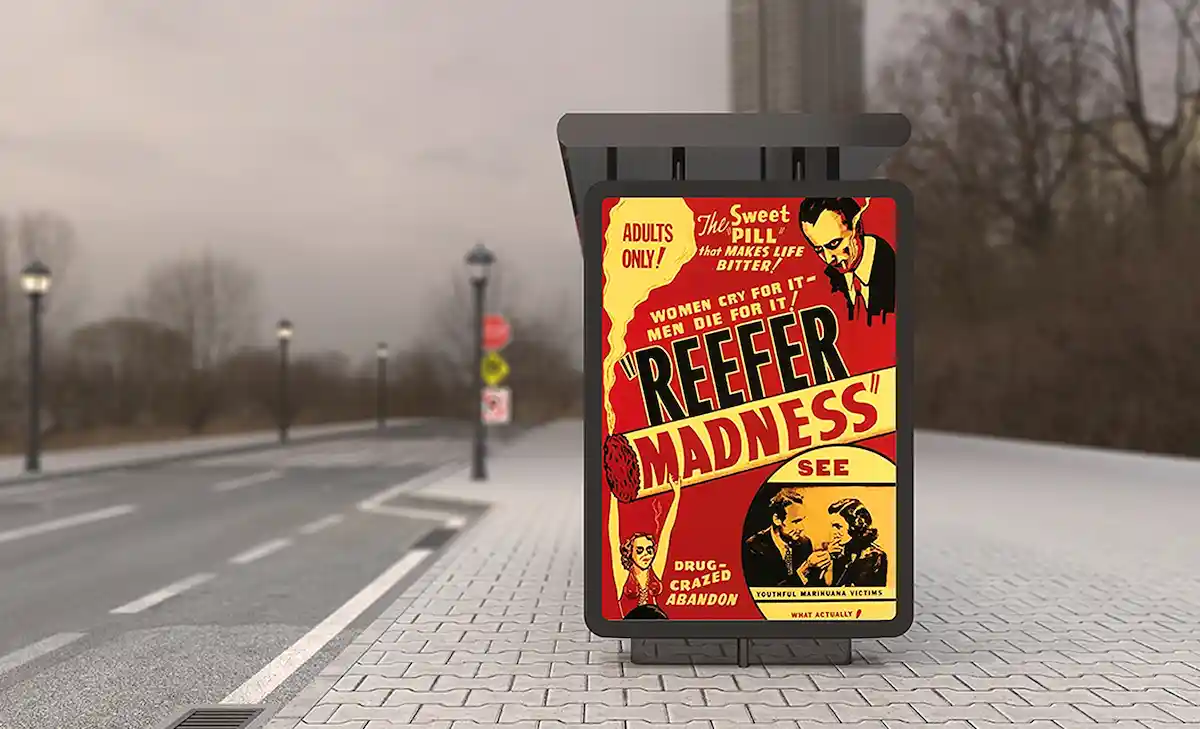 Film poster from Reefer Madness
